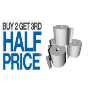 THERMAL PAPER x 3 Boxes  80X80 X 3 BOXES OF 24.  HALF PRICE OFF 3RD BOX.