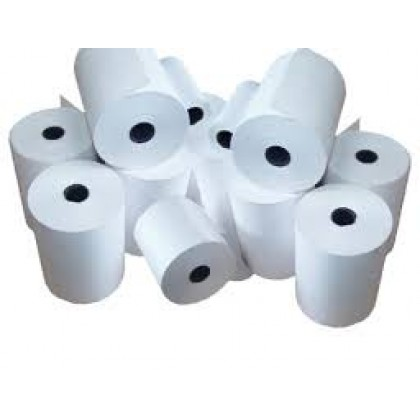 EFTPOS MACHINE ROLLS. Thermal 57 x 38 Paper Rolls 50 per box