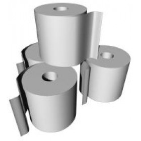 48 X PAPER THERMAL LONG LIFE 72 MTRS. Standard Thermal 80x80 Paper rolls, Approx. 58m per roll,  48 Rolls per box